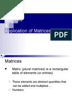 matricesandapplicationofmatrices