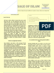The Message of Islam Newsletters 1 Part E
