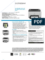 HP LaserJet P3005 Printer series | Printer (Computing) | Operating