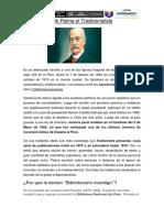 Ricardo Palma Sesion 11 Semana 8