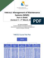 TME552 Part II_L5_1st Mar 2020