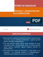 SESION 02 ANALISIS INCREMENTAL Y ADM PROD