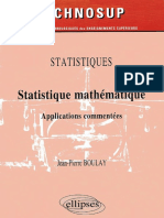 Statistique Mathematique Applications Commentes by Jean-Pierre Boulay (Z-lib.org)