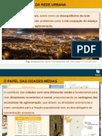 A reorganização da rede urbana portuguesa/em Portugal