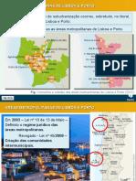 Áreas Metropolitanas portuguesas/de Portugal