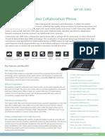 Yealink SIP VP-T49G Datasheet (VCS Version).pdf