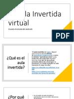 El aula invertida virtual