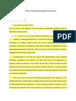 HRM Analysis in Petroleum Development Oman