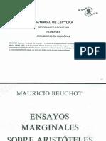 ARGUMENTIC.    (EXTRA)__ENSAYOS MARGINALES SOBRE ARISTOTELES. Mauricio Beuchot..pdf