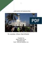 Muslim Saints of Maharastra