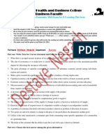 Destaye  Negash   Economics Mid exam