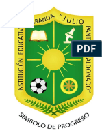 ESCUDO JULIO PANTOJA MALDONADO