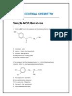 Pharmceutical chemistry MCQ
