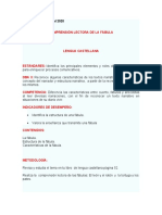 MARIA MARTINEZ - GUIA COMPRENSION LECTORAS DE LAS FABULAS EL LEÓN Y EL RATÓN Y LA TORTUGA Y LOS PATOS
