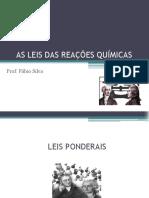 Leis das reações químicas (2) - Professor Fábio