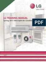 LG Spring 2011 Mini Split Air Conditioner Training.pdf