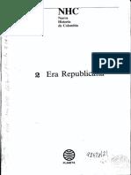 el estado y la política en el siglo XIX Álvaro Tirado Mejía