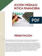 Inducción Módulo Matemáticas Financieras.