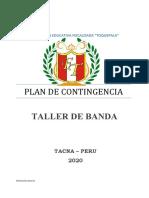 Plan de Contingencia - Taller de Banda - 2020