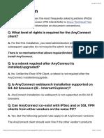 AnyConnect VPN Client FAQ - Cisco Community