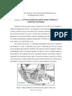 Report of Advance Seminar on Socio-Environmental