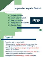 Pengenalan statistik