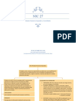 Mapa Conceptual NIC 27