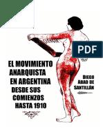 Movimento anarquista em Argentisna desde 1910