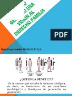 Derecho genetico una vision al derecho de familia (1)