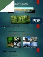 Ecosyestem Presentation
