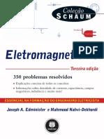 resumo-eletromagnetismo-350-problemas-resolvidos-colecao-schaum-joseph-a-edminister