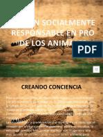 ACCION SOCIALMENTE RESPONSABLE EN PRO DE LOS ANIMALES.pptx