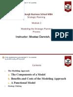 Module 2-Modeling the Strategic Planning Process