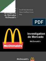Investigacion de mercados McDonald's