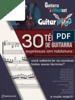 Roger Dutra - GUITAR_Hit_60_ Ebook - 30 Técnicas de Guitarra Expressas em Tab.pdf