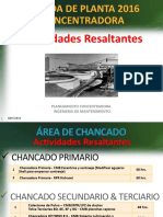 PARADA DE PLANTA 2016 TE- Actividades