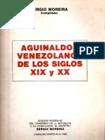 Selección de Aguinaldos Venezolanos de los siglos XIX