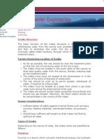 Intake, Pumping & Conveyance
