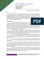 001-JSN-DE-2020 Medidas extraordinarias por Pandemia