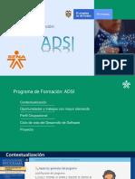 Presentacion Analisis y Desarrollo de Sistemas de Información - SENA