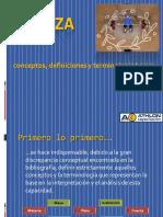 Definiciones FUERZA