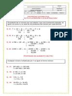 MATEMATICAS IIP -PROP. de la multiplicacion distributiva - ACTIVIDAD (2)