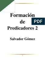 Formacion de Predicadores 2 Salvador Gomez