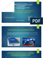 DIAPOSITIVAS POWER POINT (CONSTITUCION DE VENEZUELA)