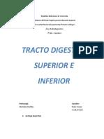 TRACTO DIGESTIVO SUPERIOR E INFERIOR CLASE