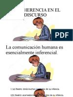 LA COHERENCIA EN EL DISCURSO