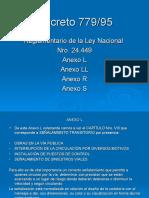 3.- Anexos L-LL-R-S del Decreto 779-85 (2)