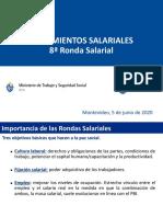 Lineamientos Salariales - Consejo Superior Tripartito Sector Privado