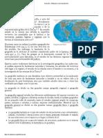 Geografía - Wikipedia, la enciclopedia libre