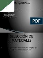 G4- SELECCIÓN DE MATERIALES ok